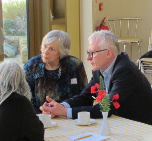 Norman Lamb visits